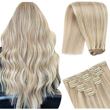 Blonde haare mit blonden strähnchen