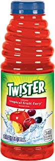 Tropicana Twister Drink, 20 Ounce, 12 Bottles, Tropical Fruit Fury