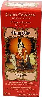SITARAMA Henné Color - Henna Colouring Cream - Mahogany - Free from oxidants, Ammonia, p-phenylenediamine (PPD), resorcino...