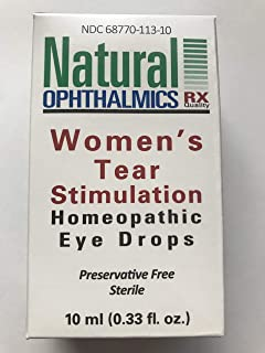 Women's Tear Stimulation Dry Eye Homeopathic Eyedrops