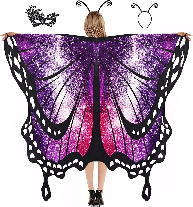 Butterfly Wings for Selling rankings Women Girls Costumes Halloween Kids Max 90% OFF Butterfl