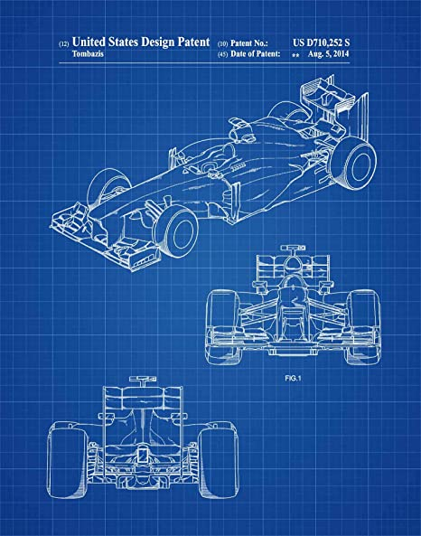 Formula 1 Racing car world/'s fastest Quality wall Art poster Choose your Size