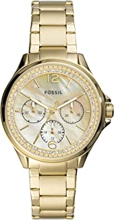 Fossil WOMENS SADIE STAINLESS STEEL WATCH ES4780, GOLD