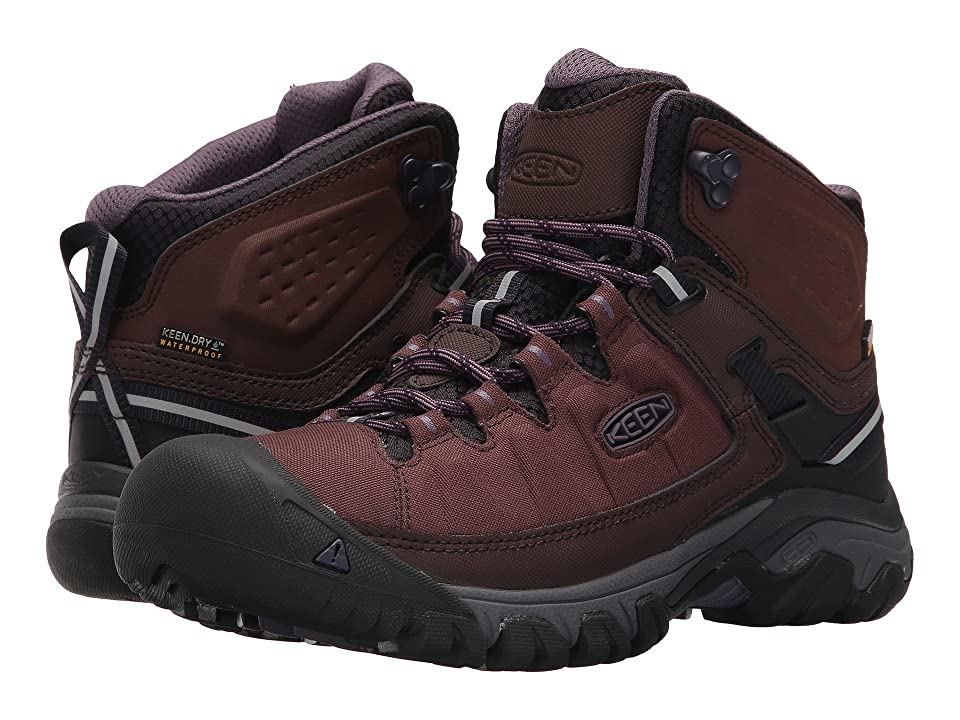 Keen Targhee Exp Mid WP (French Roast/Purple Plumeria) Women