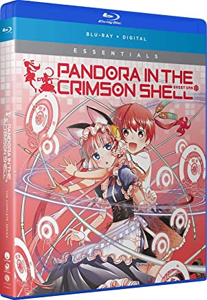 Pandora In The Crimson Shell Ghost Urn Essentials Blu-Ray(紅殻のパンドラ -GHOST URN- 全12話)