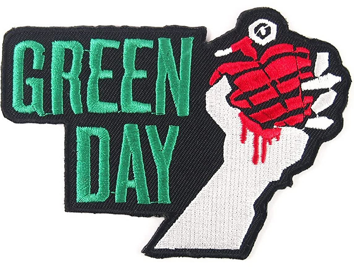Greenday Songs Music RockBand t Shirts logo MG13 iron on Patches
