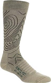 Farm to Feet Men's Elkin Valley Topography Lighweight Hiking Crew Socks