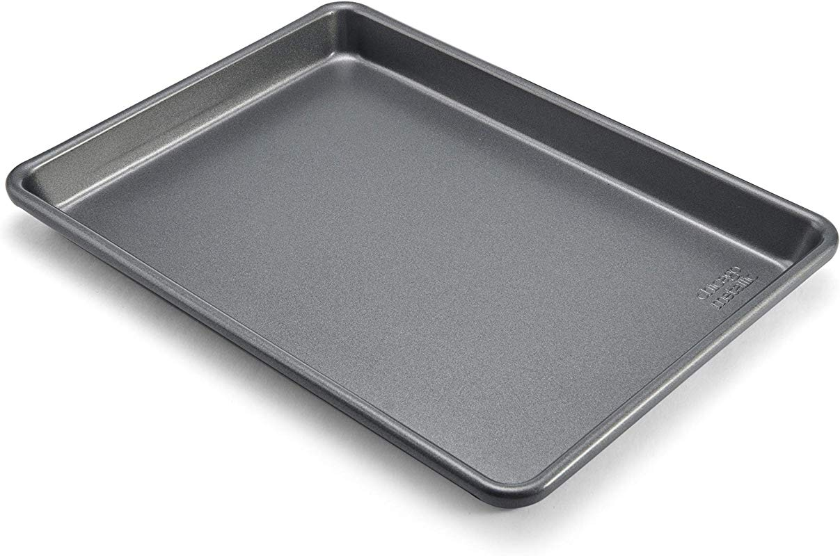 Chicago Metallic Commercial II Non Stick Small Jelly Roll Pan 12 25 X8 75 Inches