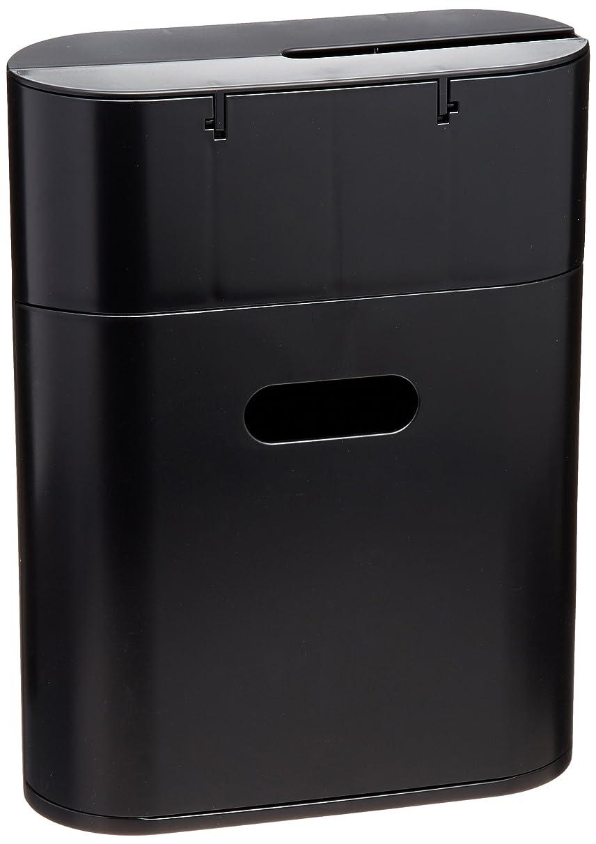 隠す誇張する真夜中小久保 『スペア収納ポケット付粘着クリーナーBOX』 CORO mode in ブラック ST-037