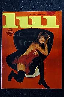 LUI 061 N° 61 1969 FEVRIER COVER JANE BIRKIN & SERGE GAINSBOURG 6 PAGES MODE PORSCHE PIN-UP ASLAN 1969