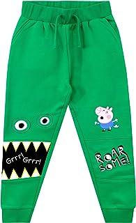 Peppa Pig Pantalón de Sudadera para Niños George Pig