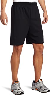 MJ Men's Heavy Weight Cotton/Poly Jersey Short