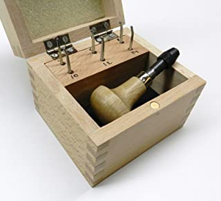 MILGRAIN Wheels Set of 6 MILLGRAIN Tools Handle Boxed #'s 4 6 8 10 12 14 (E 11) NOVELTOOLS
