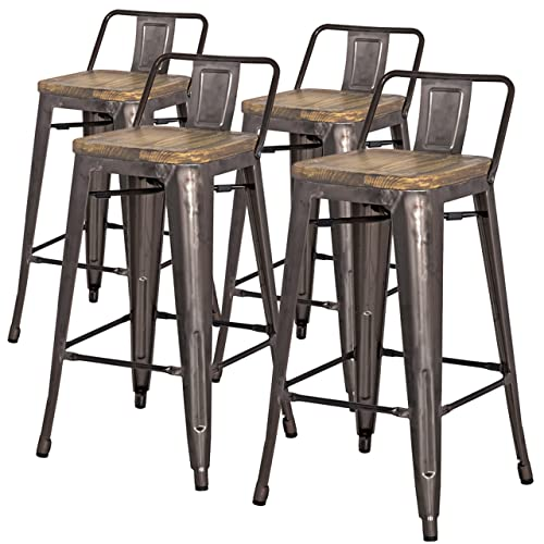 Cool Low Back Counter Stool Amazon Com Creativecarmelina Interior Chair Design Creativecarmelinacom