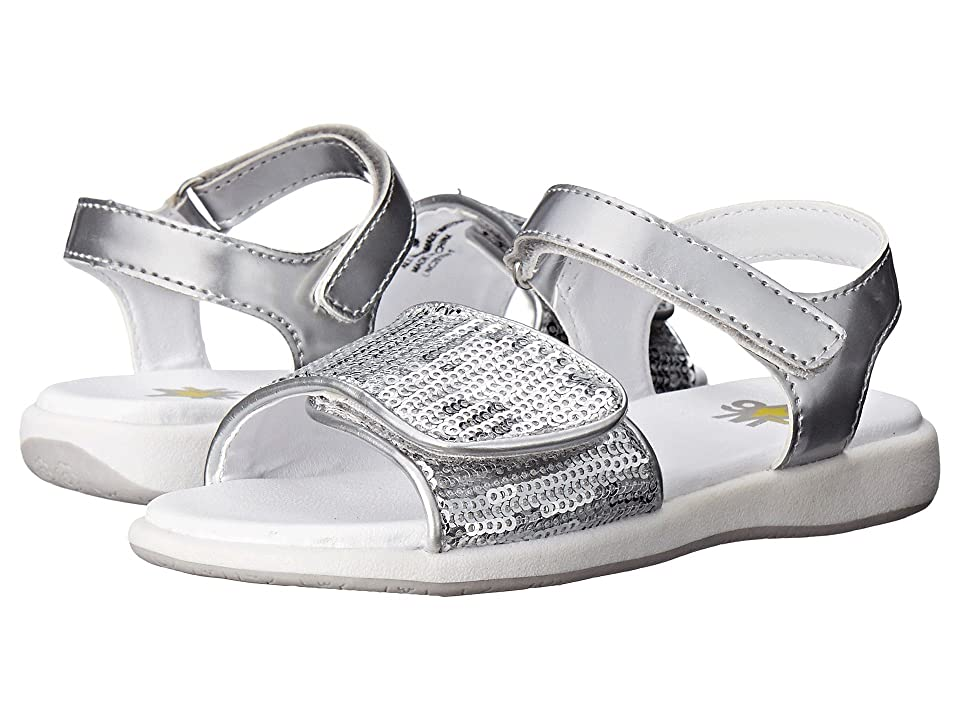 W6YZ Susie (Toddler/Little Kid) (Silver) Girls Shoes
