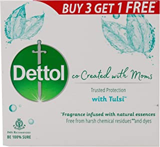 Dettol Tulsi Bathing Soap - 300g (co-Created with Moms)