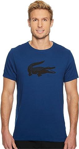 Lacoste - Sport Oversize Croc Tech Jersey Tennis T-Shirt