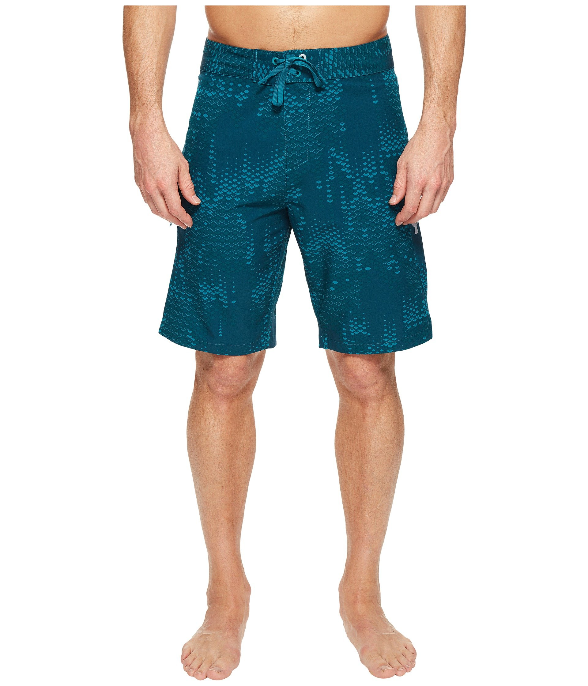 Under armour ua reblek printed boardshorts at 6pm for Under armour swim shirt