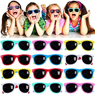 Kids Sunglasses Party Favors in Bulk, 12Pack Neon...