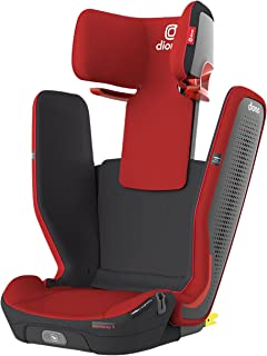 DiONO Monterey 5iST FixSafe Latch High Back Booster Car Seat, Red Cherry