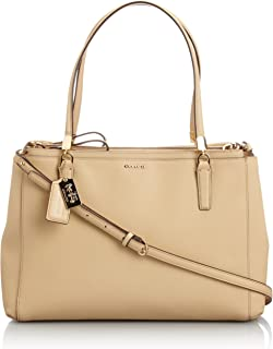 Madison Christie Carryall Satchel Saffiano Leather