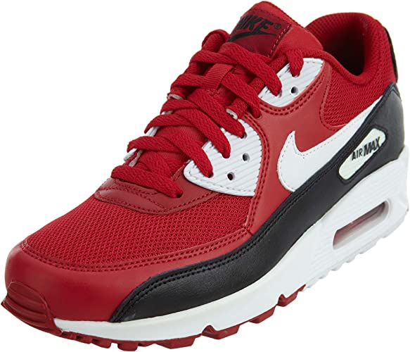 Nike Air Max 90 Essential, Chaussures de Running Homme, Rouge Gym ...