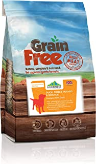 Goodness 2 Kg Duck, Sweet Potato and Orange Grain-free Adult Dog Food