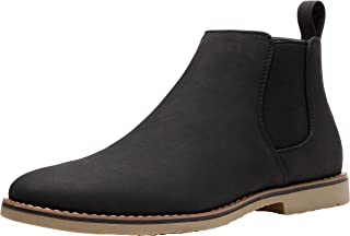 Men's Dress Boots Round Toe Ankle Boots Oxford Boots