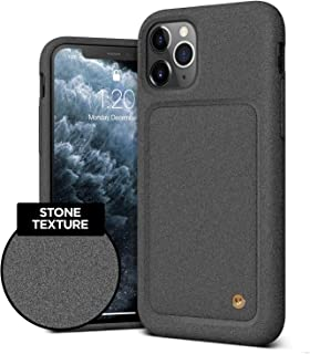 VRS Design Damda High Pro Shield Compatible for iPhone 11 Pro Max Case, with Premium Sand Stone Touch and Gold Detail for iPhone 11 Pro Max 6.5 inch (2019) Sand Stone