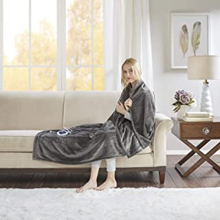 Beautyrest - Plush Heated Throw Blanket -Secure Comfort Technology-Oversized 60