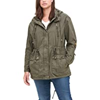 Levi's Women's Cotton Hooded Anorak Jacket (Standard & Plus Sizes)