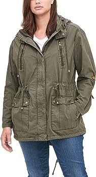Levi's Women's Cotton Hooded Anorak Jacket (Standard & Plus Sizes)