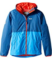 Jack Wolfskin Kids - Rainy Days Rain Jacket (Little Kids/Big Kids)