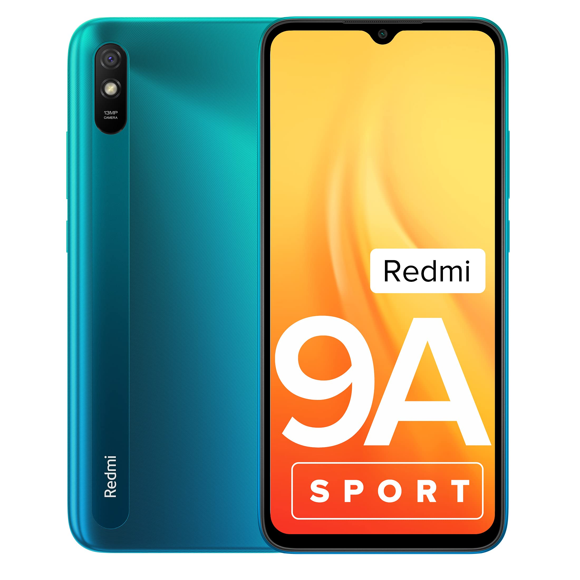 Redmi 9A Sport (Coral Green, 2GB RAM, 32GB Storage)