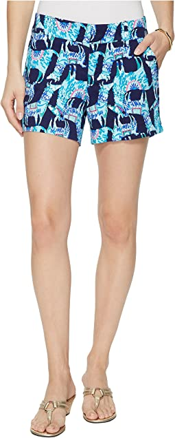 Lilly Pulitzer - Callahan Stretch Sateen Shorts