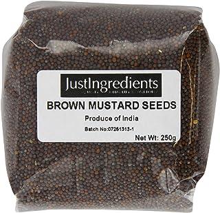 JustIngredients Essential Semillas de Mostaza Negra/Marrón