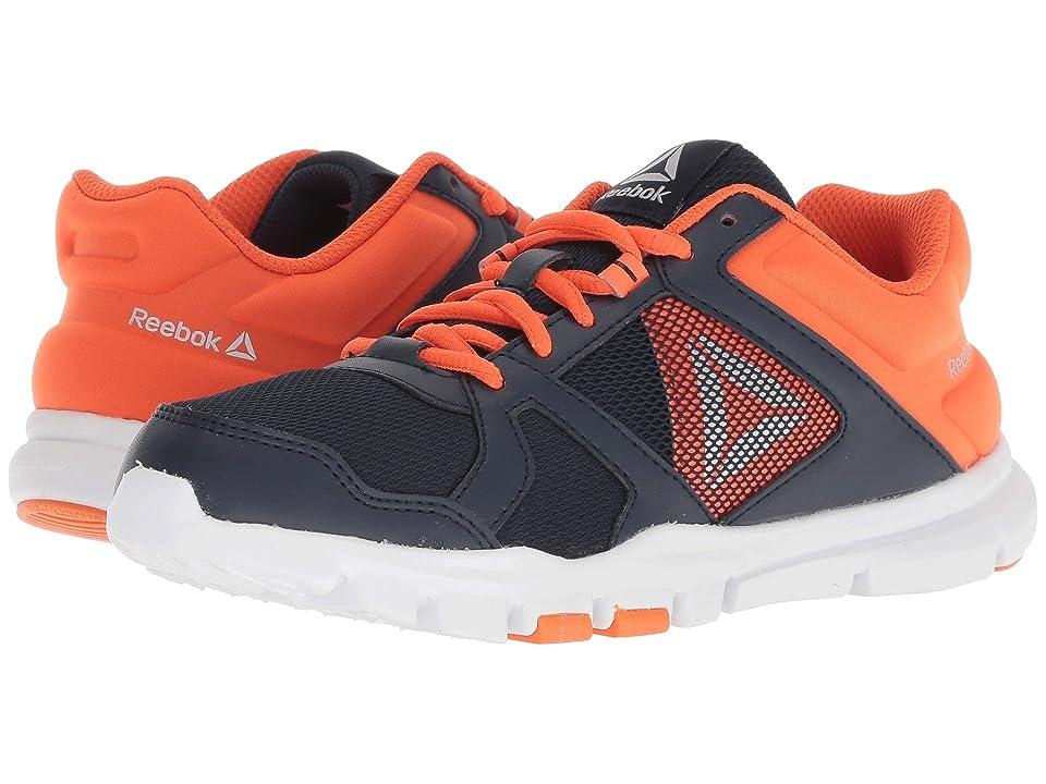 Reebok Kids Yourflex Train 10 (Little Kid/Big Kid) (Navy/Lava) Boys Shoes