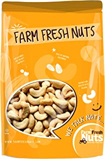 Dry Roasted CASHEWS Himalayan Salted - Baked in Small Batches for Added Freshness - Oven Roasted to Perfection - Without O...