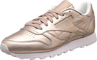 Reebok Women's Cl Lthr Melted Metal Leather Running Shoes