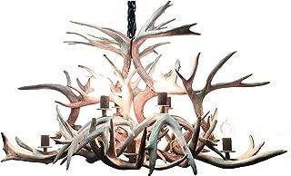 XL Isle Royale Real Whitetail Deer Antler Chandelier
