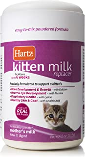 Hartz Powdered Kitten Milk Replacer Formula - 11Oz