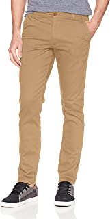 WT02 Men's Long Basic Stretch Skinny Chino Pant