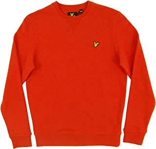 Lyle and Scott ML424V Crew Sweatshirt Flame Red