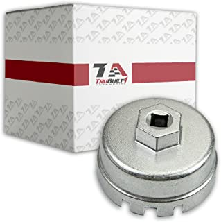T1A Oil Filter Wrench for Toyota & Lexus 4 Cylinder, Also Fits Prius, Matrix, Rav4, Auris, Corolla Axio and Fielder, Aluminum Alloy Won't Strip Over Tightened Filters, Fits 3/8