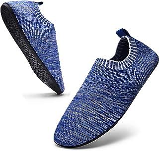Sosenfer Hombre Mujer Zapatillas de Estar por casa Interior Pantuflas Suela Antideslizante Slipper Unisex