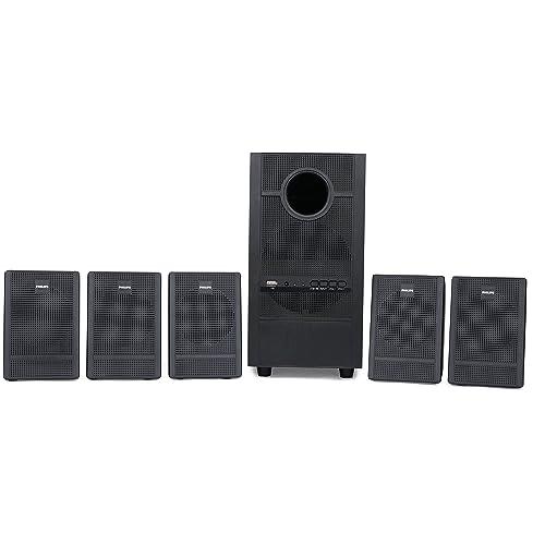 Philips Heartbeat SPA-3000U/94 5.1 Channel Multimedia Speaker System (Black)