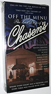 Off the Menu: The Last Days of Chasen's [VHS]