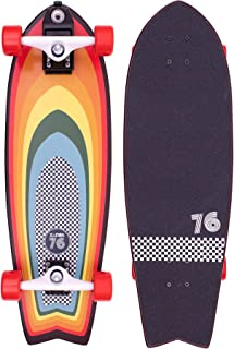 Z-Flex Surf-a-gogo Surfskate Fish Longboard, Adult...