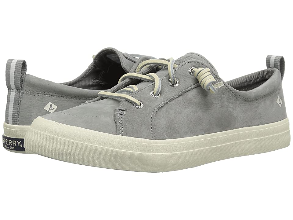 Sperry Crest Vibe Washable Leather (Grey) Women