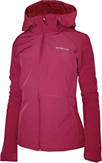 Women's Alpine Fir Windproof Fleece Lined Softshell Hooded Jacket